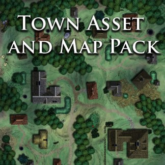 Town Buildings and Furniture Asset and Map pack - Nord Games