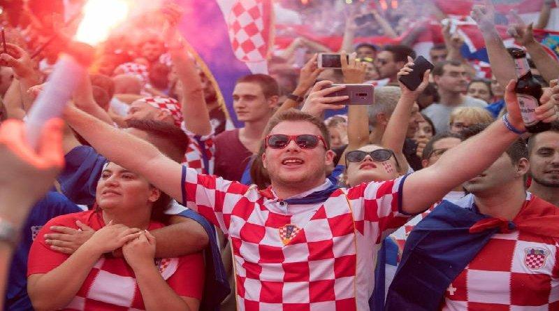 Freudige WM-Verlierer: Kroaten feiern in Frankfurt trotzdem