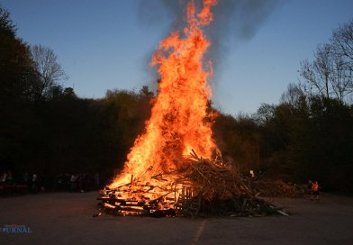 Osterfeuer in Volkmarsen