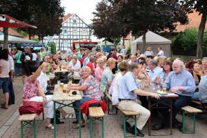 Richtig was los zum ersten Ehrenamtstag der Gemeinde Edermünde (Foto: pm|nh)
