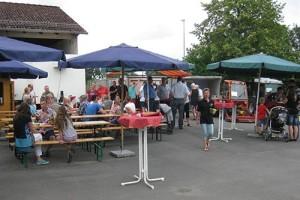 Viele Besucherinnen und Besucher informierten sich über die Arbeit des Bauhofs (Foto: Heike Klein|nh)