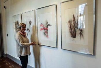 Künstlerin Hildegard Schwarz (Foto: Ina Michael, Stadt Kassel)