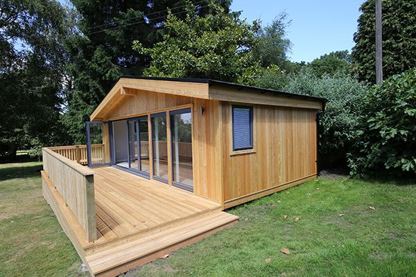 Bespoke Large Garden Room In Surrey By Nordic Wood