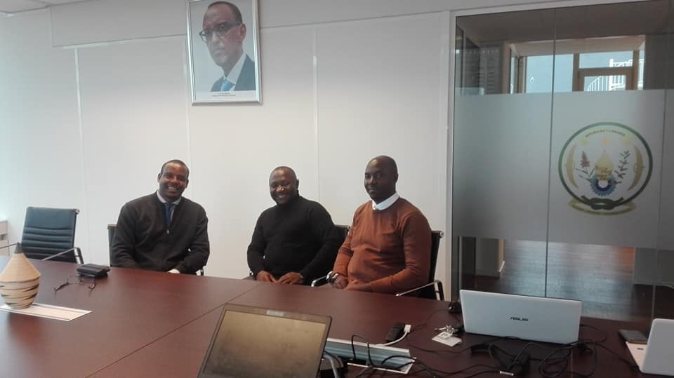 Meeting with Rwandan Ambassador to The Netherland