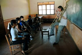 Teaching at SICOR in Santa Cruz