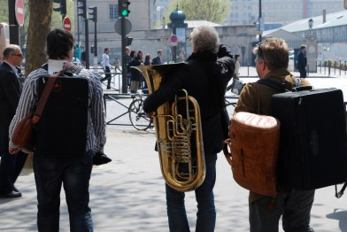 Hunting for a rehearsal space in Paris 2010