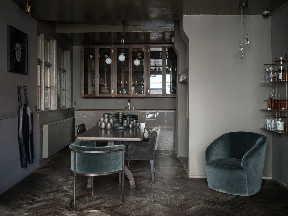 Living Spaces With Dark And Decadent Black Interiors Property Agreeable Living  Spaces With Dark And Decadent Black Interiors Pool Decoration Of Dark  Modern ...
