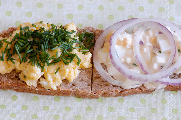 Open sandwiches, delights of the Nordic kitchen