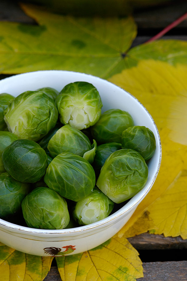 Brussels sprouts do actually originate from the area around Brussels in Belgium