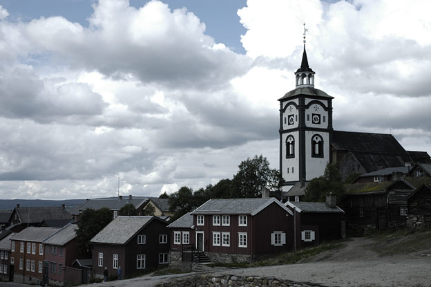 Røros church from 1784 is one of the foremost and cherished symbols of Røros.