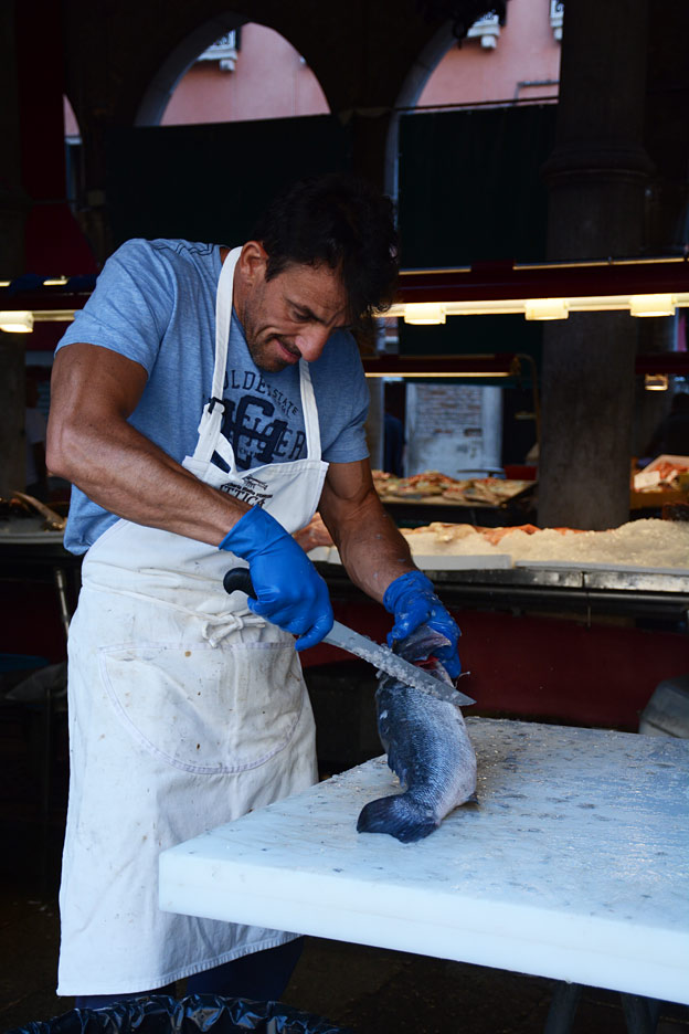 The fishmonger of Venice