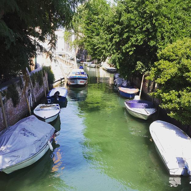 Canal in Giardani Pubblici
