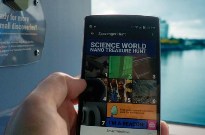 "Locatify/Science World's ""Zoom into Nano"""