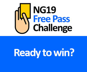 Join the monthly NG19 Free Pass Challenge
