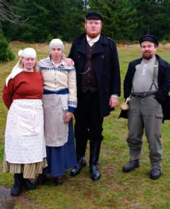 Rune family, Katrin, Hilda, Rune, Terje (Post-game, Anna-Karin Linder Krauklis)
