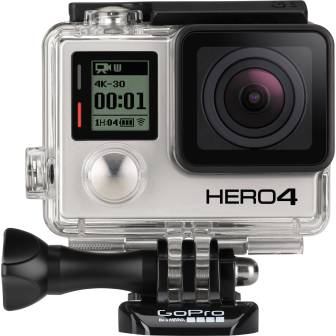 GoPro Hero4 action camera.