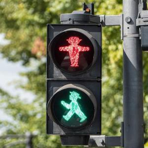 Traffic lights (Photo, Jos van Ouwerkerk)