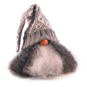 Valter in grey knitted hat sold by Nordic Light Home