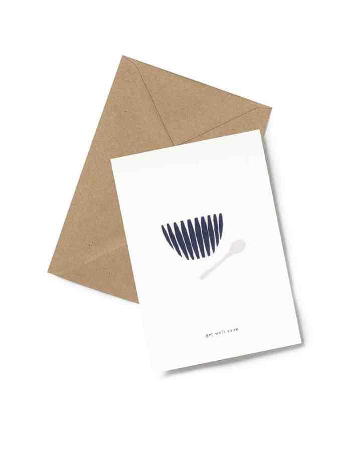 Kartotek 'get well soon' Greeting Card