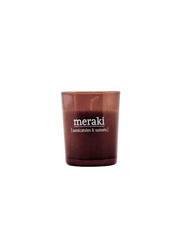 Meraki Sandcastles & Sunsets Scented Candle, Small