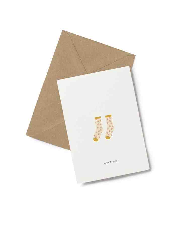 Kartotek 'pair' Greeting Card