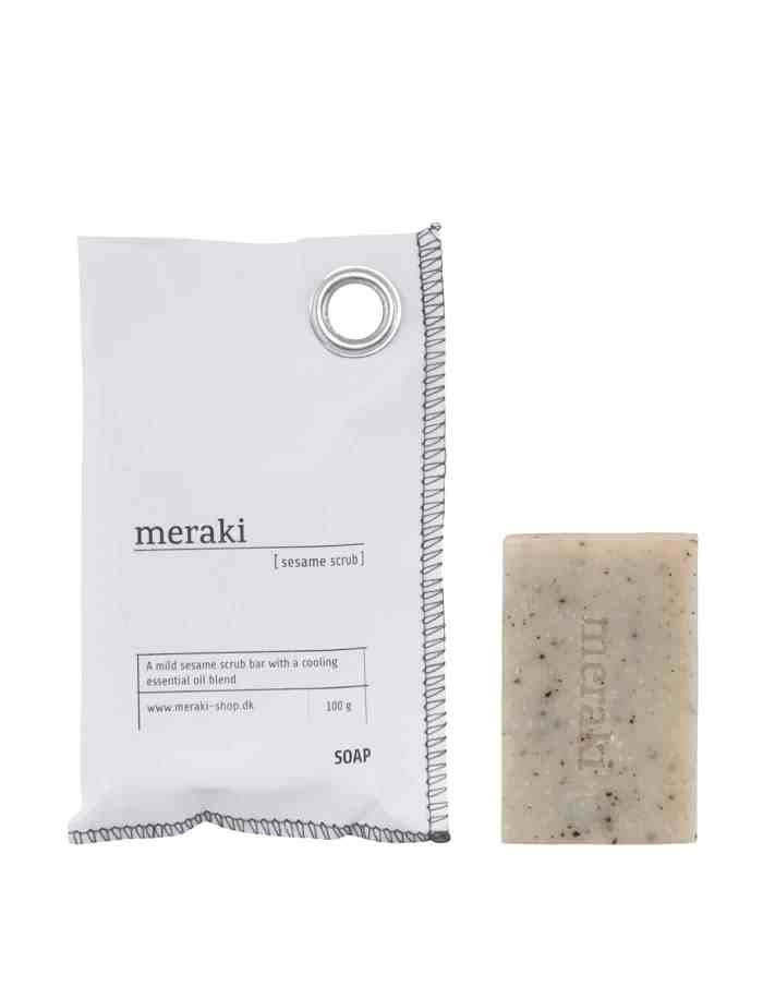Meraki Sesame Scrub Soap Bar