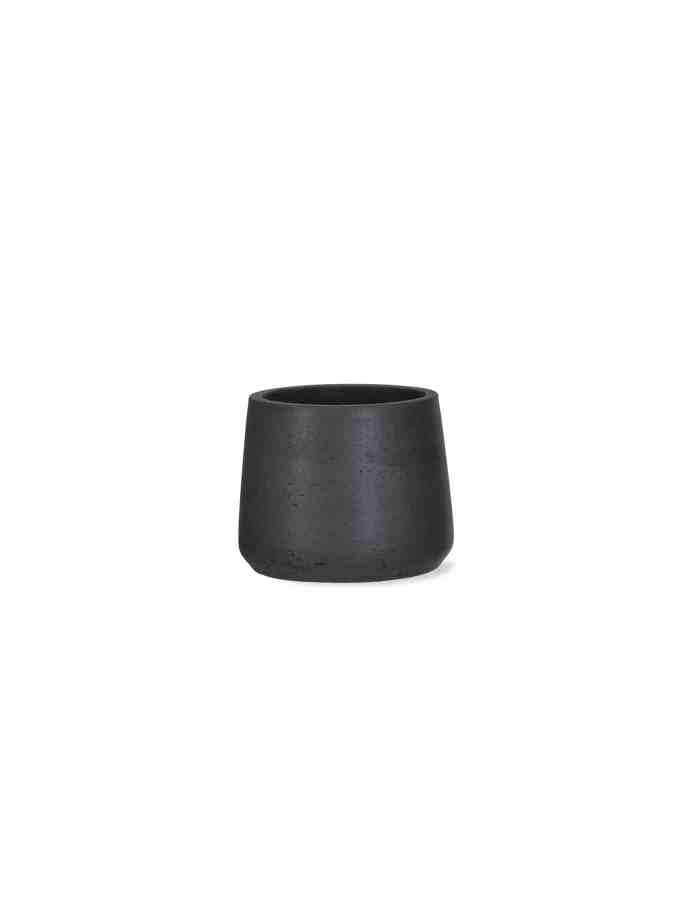 Carbon Tapered Plant Pot, Small