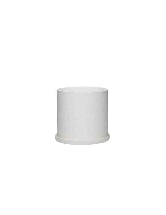 Small Ceramic Plant Pot, Hübsch