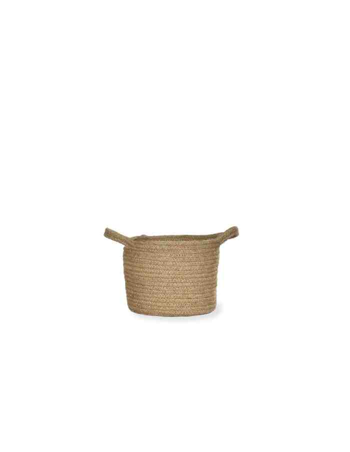 Medium Jute Plant Pot, Waterproof