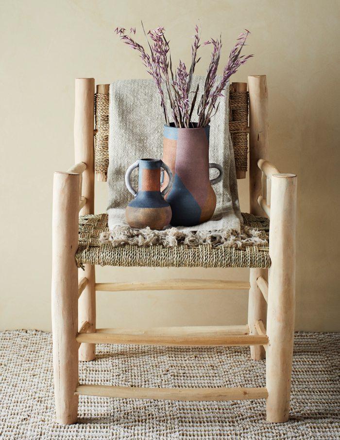 Rustic Terracotta Vase, Madam Stoltz