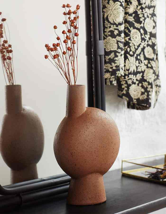 Abstract Stoneware Vase, Madam Stoltz