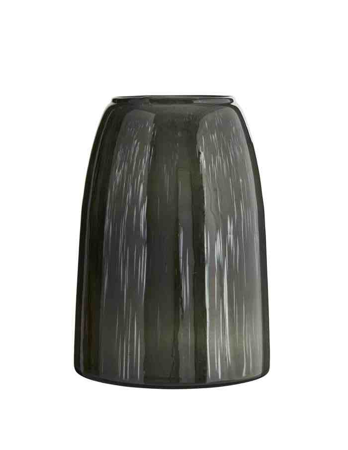 Grey Tonal Glass Vase, Madam Stoltz