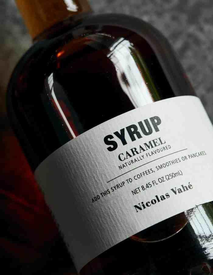 Caramel Dessert and Beverage Syrup, Nicolas Vahé