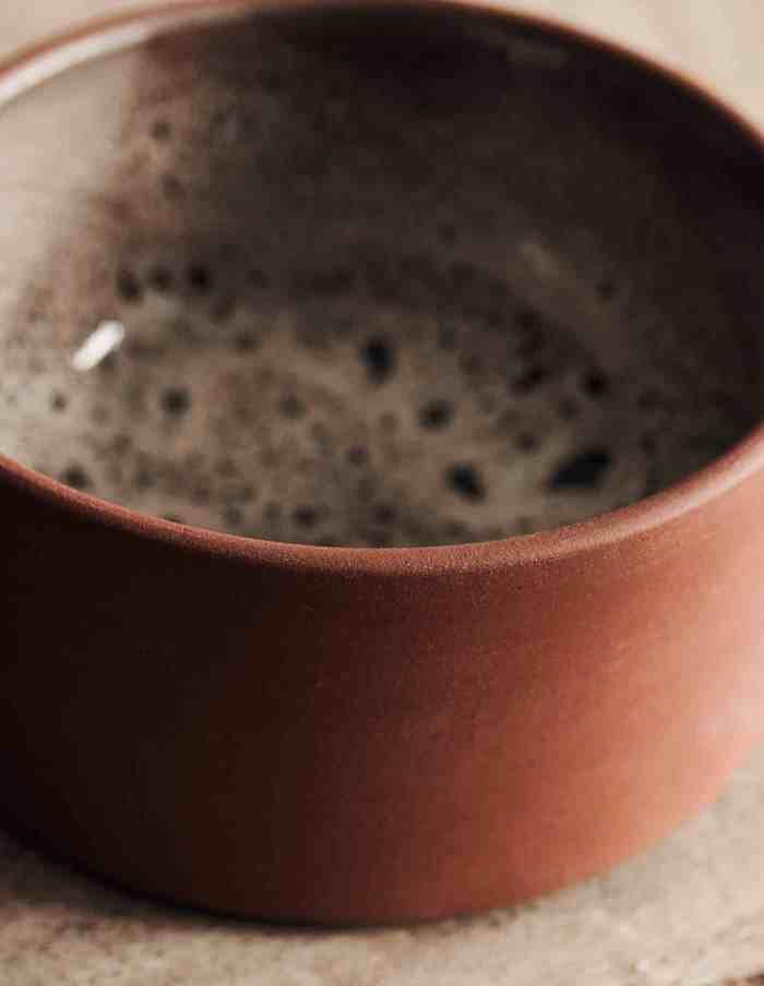 Small Retro Terracotta Bowl, House Doctor