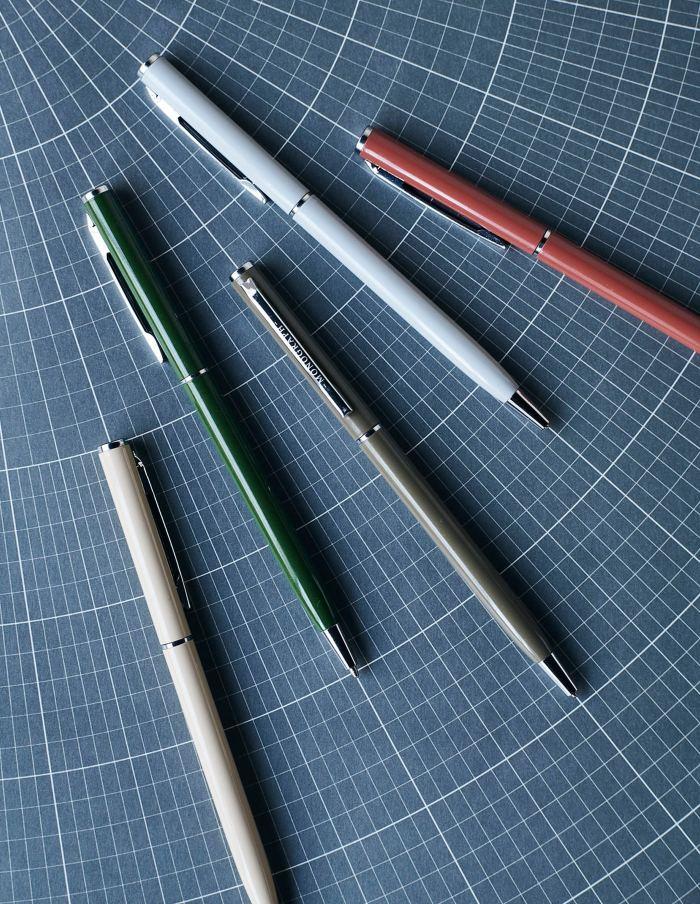 Black Ink Metal Pen Set, Monograph