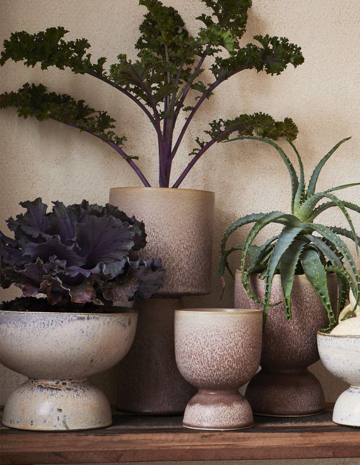 Pink Ceramic Flower Pot, Madam Stoltz