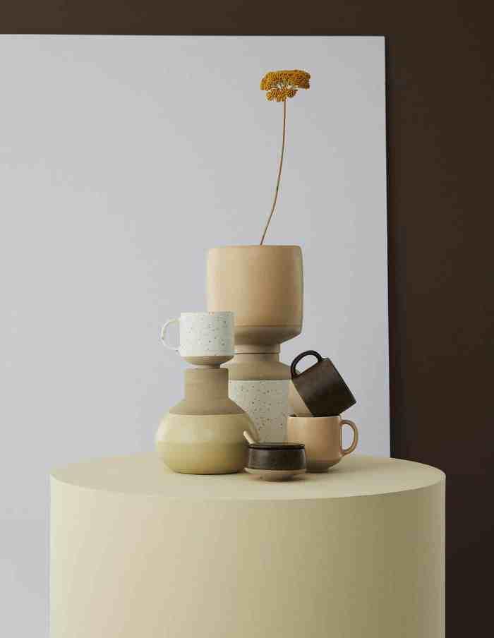 Orange Stoneware Hagi Cup, OYOY