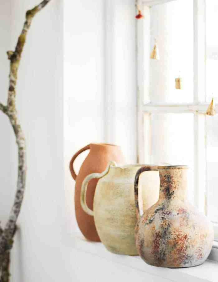 Terracotta Jug Vase, Madam Stoltz