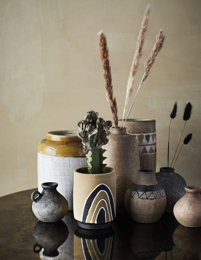 Terracotta Rainbow Flower Pot, Madam Stoltz