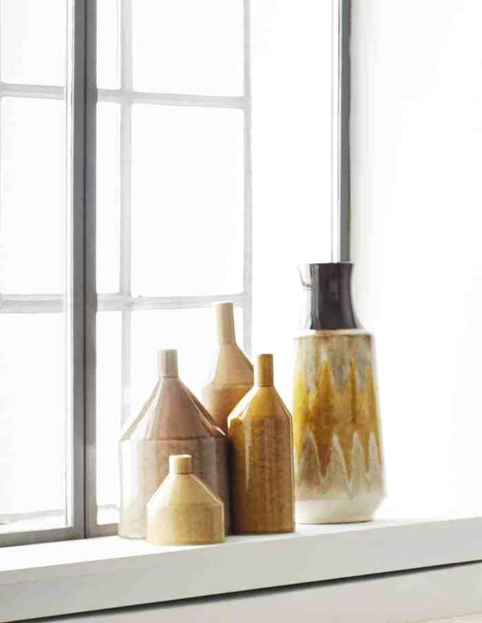 Mustard Yellow Retro Vase, Madam Stoltz