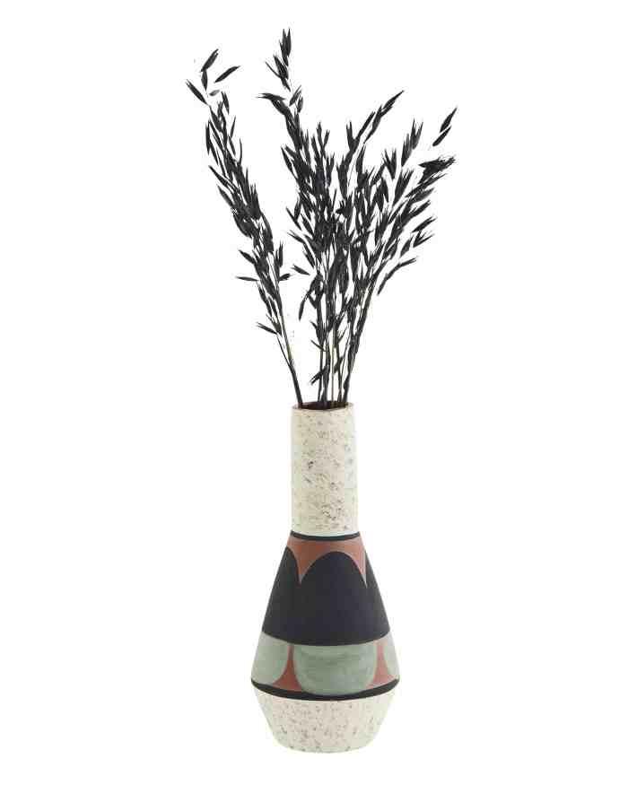Tapered Terracotta Vase, Madam Stoltz