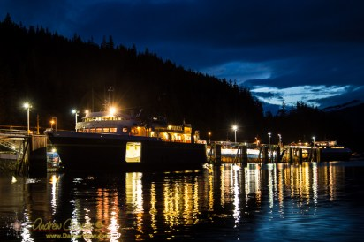 Ferries LeConte and Fairweather