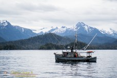 The troller Snark in Sitka Sound
