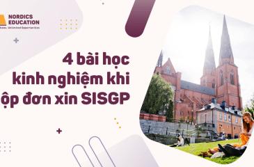 4 bài học kinh nghiệm khi nộp đơn xin SISGP.