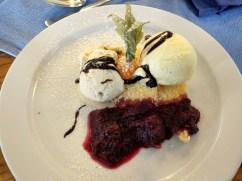 some kind of dessert, Bayerische Alm, Burghausen