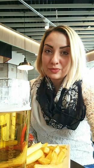 Happy face when I got my Heineken!