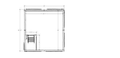 eCO Cube Loft Sketchy