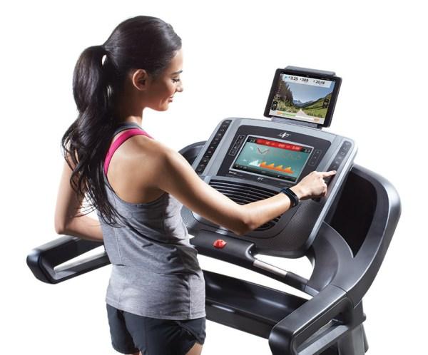 1650 treadmill console