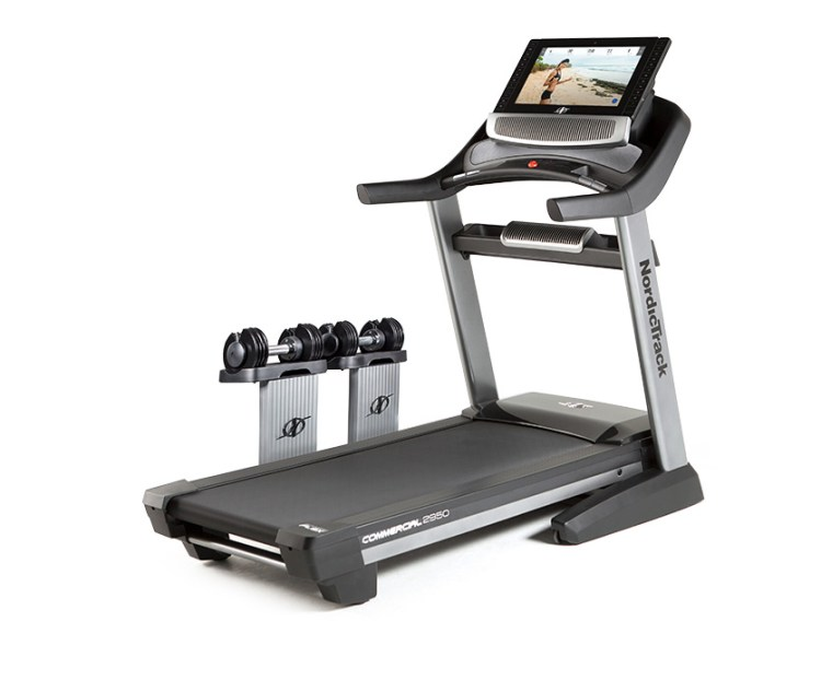 2950 commercial treadmill from Nordictrack with ifit live