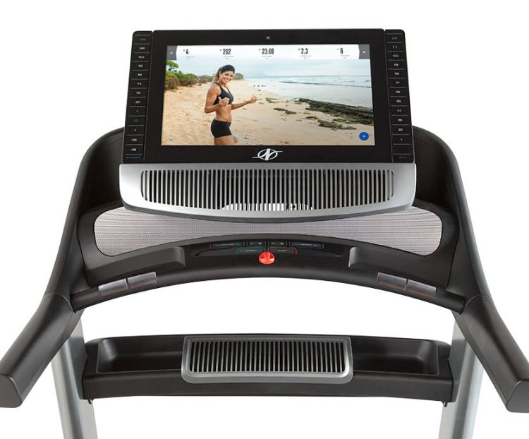 nordictrack commercial 2950 treadmill console